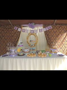 Dessert table the focal point