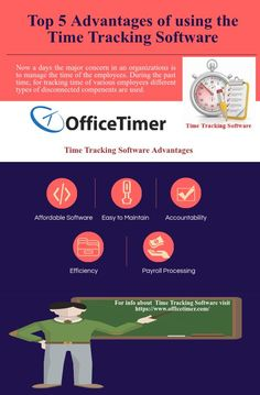 Top 5 Advantages of using the #TimeTrackingSoftware
