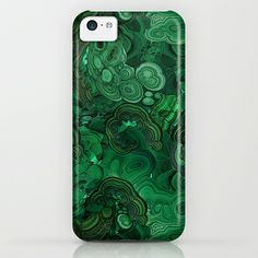 malachite iPhone & iPod Case