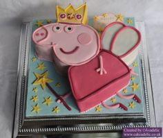 Princess Fairy Peppa Pig Birthday cake