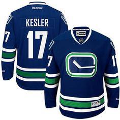 a8a1365c952 ... Reebok Ryan Kesler Vancouver Canucks Premier Third Jersey - Royal Blue  women ...