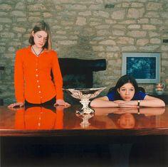 SARAH JONES The Dining Room (Mulberry Lodge) (I), 1997  C-type print  10 x 10 inches  Courtesy Anton Kern Gallery, New York #art #contemporaryart #photo