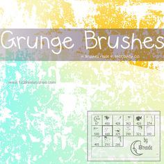 Grunge - Download  Photoshop brush http://www.123freebrushes.com/grunge-330/ , Published in #GrungeSplatter. More Free Grunge & Splatter Brushes, http://www.123freebrushes.com/free-brushes/grunge-splatter/ | #123freebrushes