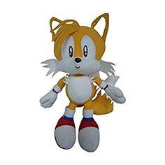 $15 Amazon.com: GE Animation Sonic Classic Tails Plush: Toys & Games