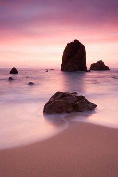 Pink Glow  #photography #beach #art #pink