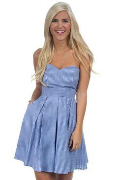 The Corbin Gingham Dress – Lauren James Co.