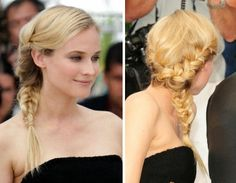 Antenadas e Fashionistas: Penteado Inspiração- Tranças