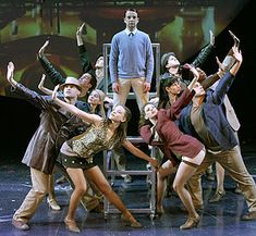 Euan Morton and cast in The Who's Tommy. Bay Street Theatre. 2006 (Photo © David Rodgers)