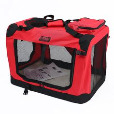 Petcomer 2016 New Designe Steel Pipe Cage for Pet, Knapsack Case for Pet * Review more details here : Dog cages