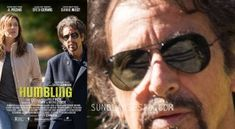 Al Pacino wears the Ray-Ban Aviator sunglasses on the poster image for the film The Humbling