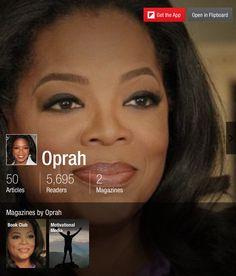Oprah - Flipboard Magazines #articles