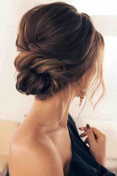 25 chic low bun hairstyles for every bride - crazyforus - 25 chic low bun f . - 25 chic low bun hairstyles for every bride – crazyforus – 25 chic low bun hairstyles for every - Low Bun Hairstyles, Formal Hairstyles, Bride Hairstyles, Hairstyle Ideas, Winter Hairstyles, Hair Ideas, Beehive Hairstyles, Engagement Hairstyles, Classic Hairstyles