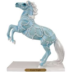 The Trail of Painted Ponies - Krystal Knight-Standard Edition - Figurines A Thousand Years, All The Pretty Horses, Beautiful Horses, Biscuit, Pony Horse, Painted Pony, Horse Sculpture, Animal Sculptures, Carousel Horses