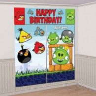 Find lots of Angry Birds Party Supplies for a brilliant birthday. Angry Birds make a super fun theme for a party. Need ideas, invitations, decorations and favors? Bird Birthday Parties, Birthday Wall, 1st Birthday Banners, Boy Birthday, Birthday Ideas, Festa Angry Birds, Party Wall Decorations, Birthday Decorations, Scene Setters