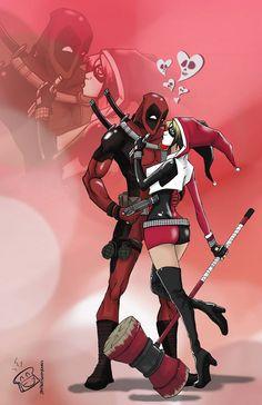 Deadpool & Harley Quinn Fan Art Will Make You Ship It Too!   moviepilot.com