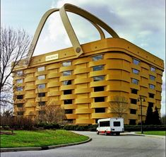 Longaberger Basket Building - will this be eligible for the National Register of Historic Places someday?