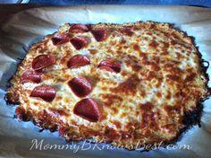 Cauliflower Pizza - Gluten Free - Medifast Recipe