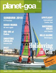 Know all about Goa and more with the latest issue of Goa's best travel magazine. Grab a copy of the Planet Goa magazine Volume 1 Issue 3 and discover the hidden wonders of Goa, visit the famous beaches of Goa, unravel the mystery of the monsoons in Goa and make the best of your vacation in Goa.