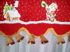 cenefa navideña con Luces incorporadas pintada a mano Christmas Humor, All Things Christmas, Christmas Time, Merry Christmas, Family Love, December, Christmas Decorations, Seasons, My Favorite Things