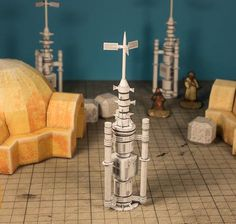 Star Wars - Moisture Evaporator Free Papercraft Download
