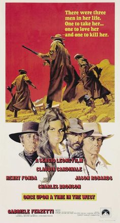 Once Upon A Time in the West (1968) The way it all resolves itself at the end, makes this one of the most amazing westerns ever made.