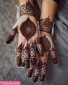 TRENDY ARABIC MEHNDI DESIGNS