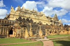 Ava la antigua capital de Birmania