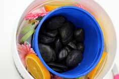 How to Make Your Own Frozen Fruit and Floral Ice Bucket | eHow