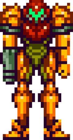 Super Metroid, Samus Aran, Varia suit 1 More