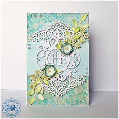 Blog Craft Passion: Komunia Święta / Holly Communion card