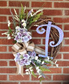 homemade grapevine wreath decorated ...by lfp