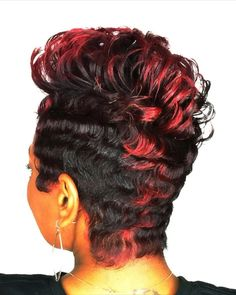 EnhanceHairCare is located in the beautiful heart of Shreveport. Enhance our client's hair with our hair growth system. Short Layered Haircuts, Short Black Hairstyles, Funky Hairstyles, Shot Hair Styles, Curly Hair Styles, Natural Hair Styles, Hair Growth Treatment, Hair Growth Oil, How To Curl Short Hair