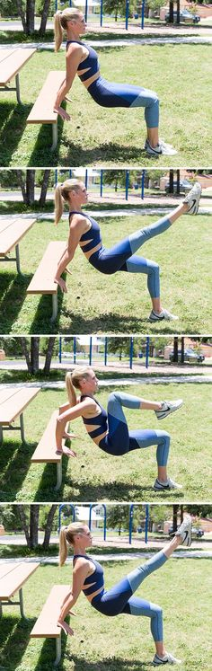 awesome workout moves you can do at a park or playground!