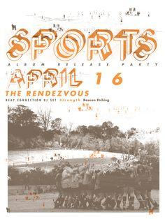 Sports by Aaron Bloom, via Behance