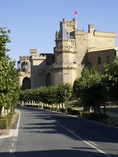Picture of Castle of the Kings of Navarre, Olite #Spain #castles