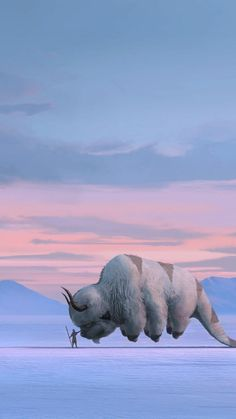 Appa the sky bison (Avatar-The legend of Aang) Avatar Airbender, Avatar Aang, Avatar Legend Of Aang, Team Avatar, Legend Of Korra, Arte Dope, The Last Avatar, Avatar Series, Zuko