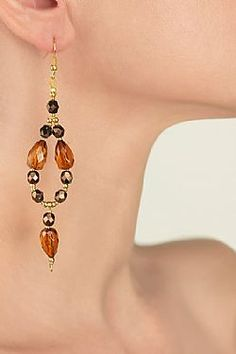 Agate Agate, Drop Earrings, My Style, Accessories, Collection, Jewelry, Fashion, Moda, Jewlery