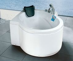 Charmant Zhejiang Modern Cheap Round Small Spa Bathtub