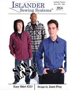 Sewing patterns for big and tall men