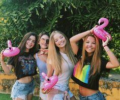 Giovanna Chaves, Jade Picon, Júlia Gomes e Maria Brasil❤