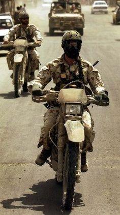 Australian Special Air Service Regiment (SASR) operatives on patrol in Afghanistan.