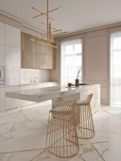 Проект дизайна ELEGANT KITCHEN | «Anna Neiman Design»