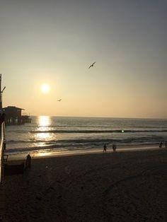 friends in america: Santa Monica Pier