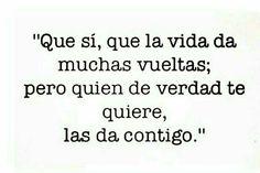 #lasvueltasdelavida #quierodarvueltascontigo #amistad #amor