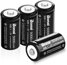 Best C Rechargeable batteries from trusted brands available in 2020 that are trending and the most selling in the electronics market worldwide. Electrochemical Cell, Amazon Delivery, Ac Dc Voltage, Find Amazon, Energy Density, Electrical Energy, Alkaline Battery, Game Controller, Wireless Speakers