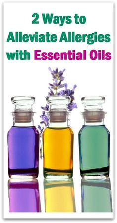 2 Ways to Alleviate Allergies with Essential Oils - Natural Holistic Life #allergies #essential #oils #seasonal