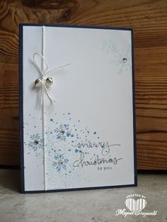 Magical Scrapworld: christmas card endless wishes stampin' up!