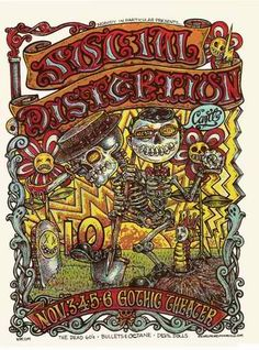 Social Distortion Poster by Michael Michael Motorcyle
