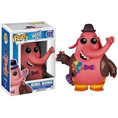 Disney Pixar Inside Out Funko POP! Disney Bing Bong Vinyl Figure #137 ($20) ❤ liked on Polyvore featuring home, home decor, father figure, vinyl figurines, disney figurines, disney figure and vinyl home decor