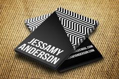 Check out Jessamy Business Card Template by Pip Sweet on Creative Market